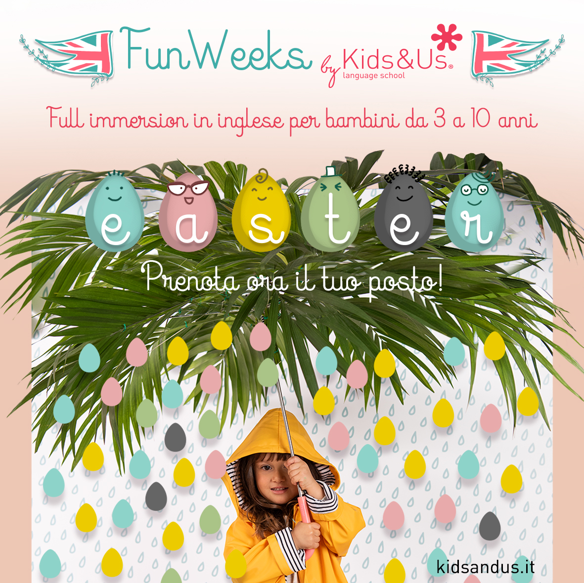 Una primavera all'insegna dell'avventura con la Easter Fun Weeks di Kids&Us!